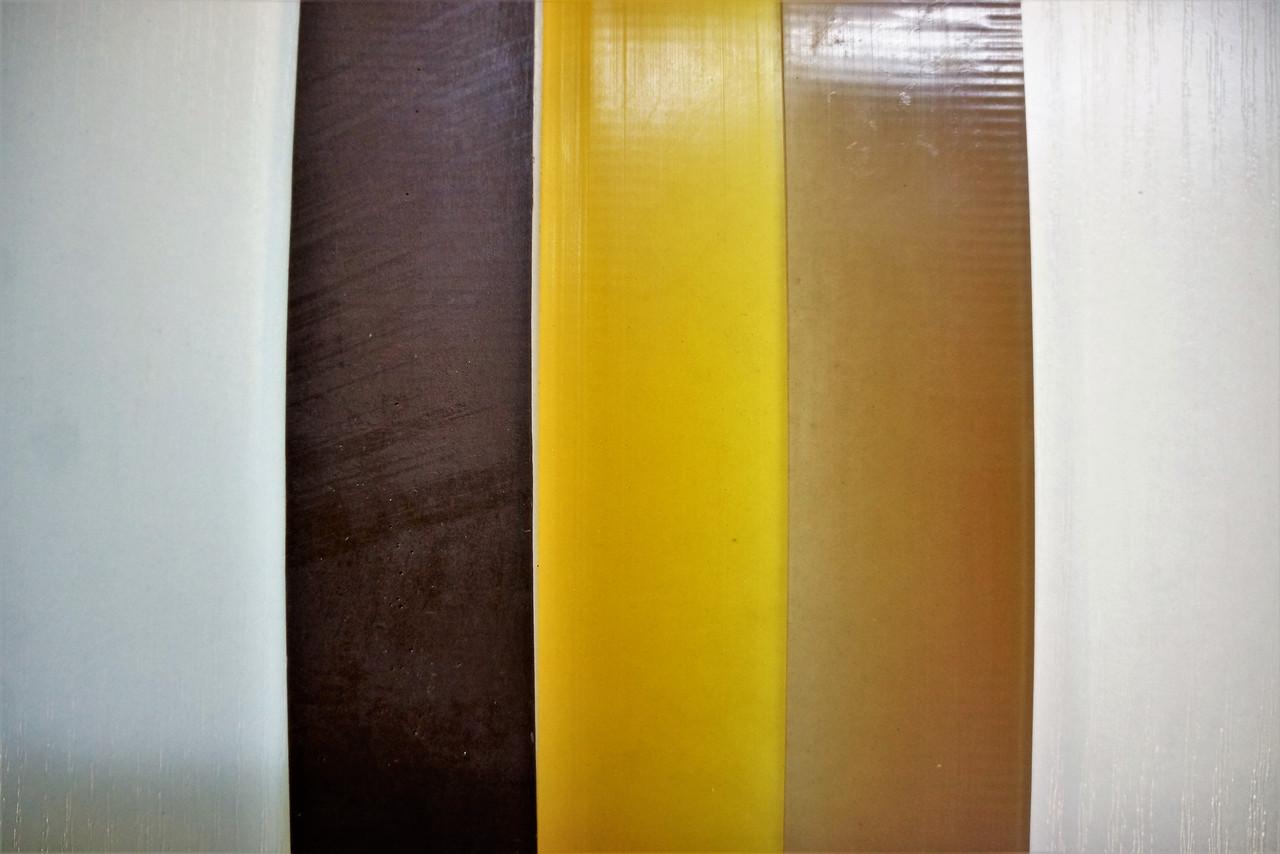 Полиуретановый рубец (косячок) Економ 400*40 мм.цвет в ассорт.