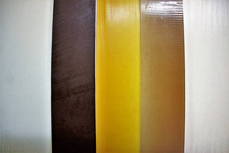 Полиуретановый рубец (косячок) Економ 400*40 мм.цвет в ассорт., фото 2