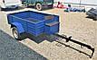Прицеп для мотоблоков (190*115*38) со спинкой, под жигулевскую ступицу, фото 3