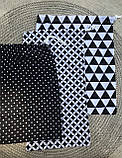 Эко мешок для вещей и продуктов, екоторбинка, хлопковый мешочек многоразовый для хранения 20*30 и 25*35см, фото 3