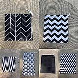 Эко мешок для вещей и продуктов, екоторбинка, хлопковый мешочек многоразовый для хранения 20*30 и 25*35см, фото 6
