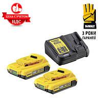 Зарядное устройство  DCB115D2 + 2 Аккумулятора  Li-Ion 18 В / 2 Ач Код:999707201