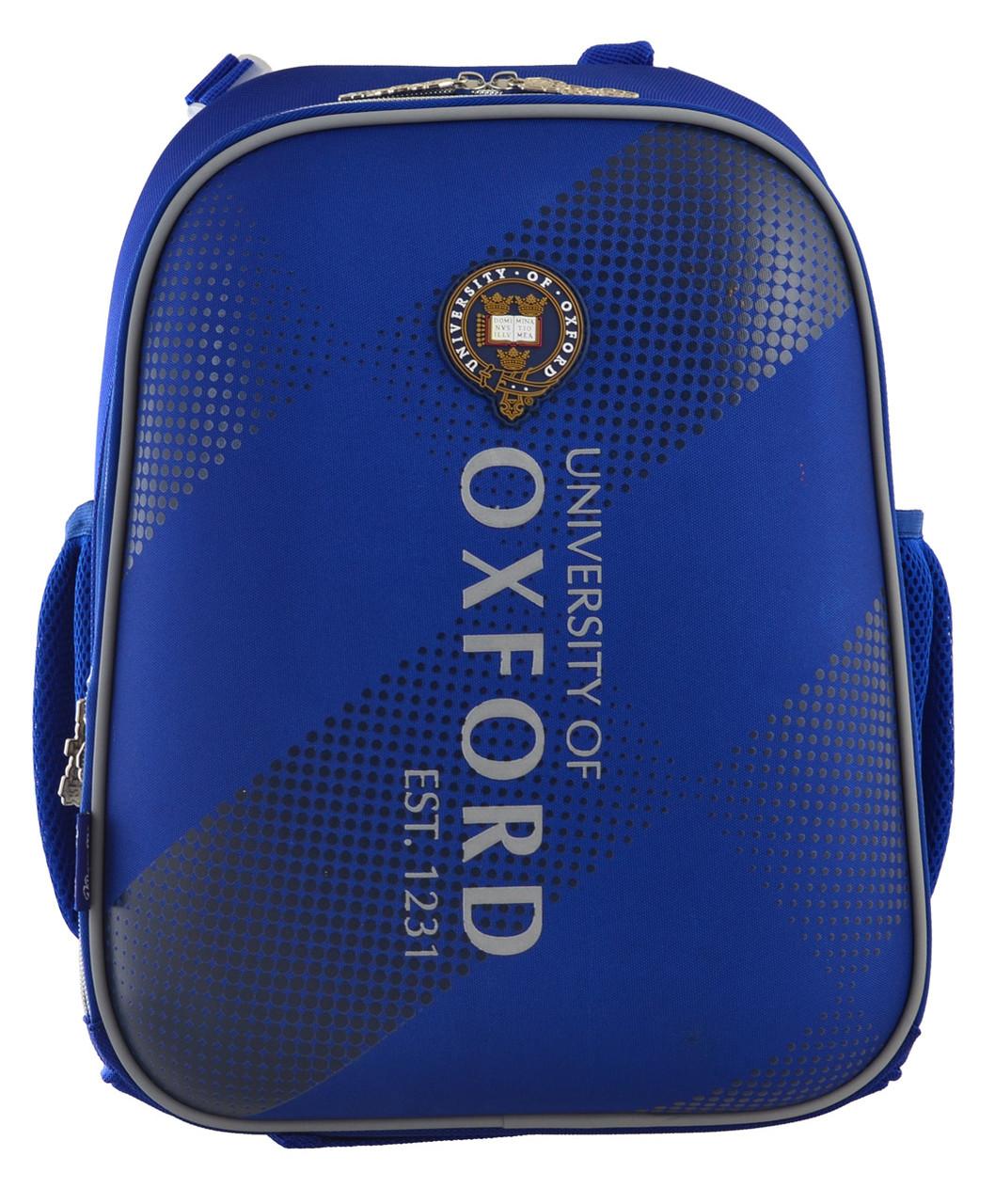 555948 Рюкзак школьный каркасный 1 Вересня H-12 Oxford  29*38*15