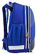 555948 Рюкзак школьный каркасный 1 Вересня H-12 Oxford  29*38*15, фото 5