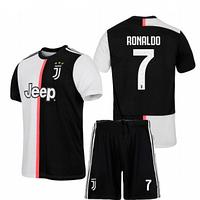 Футбольная форма Ювентус Роналдо (FC Juventus Ronaldo) 2019-2020 Домашняя Детская
