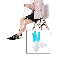 Допоміжне пристосування для одягання шкарпеток Sock Aid DA-5301 захоплення для одягання шкарпеток