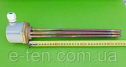 """Блок-тен МІДНИЙ 6000W (220-380V) / на різьбі 1,5"""" (48мм) / L=340мм Thermowatt, Італія"""