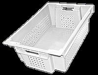 Ящик пластмассовый 600х400х200 мм белый