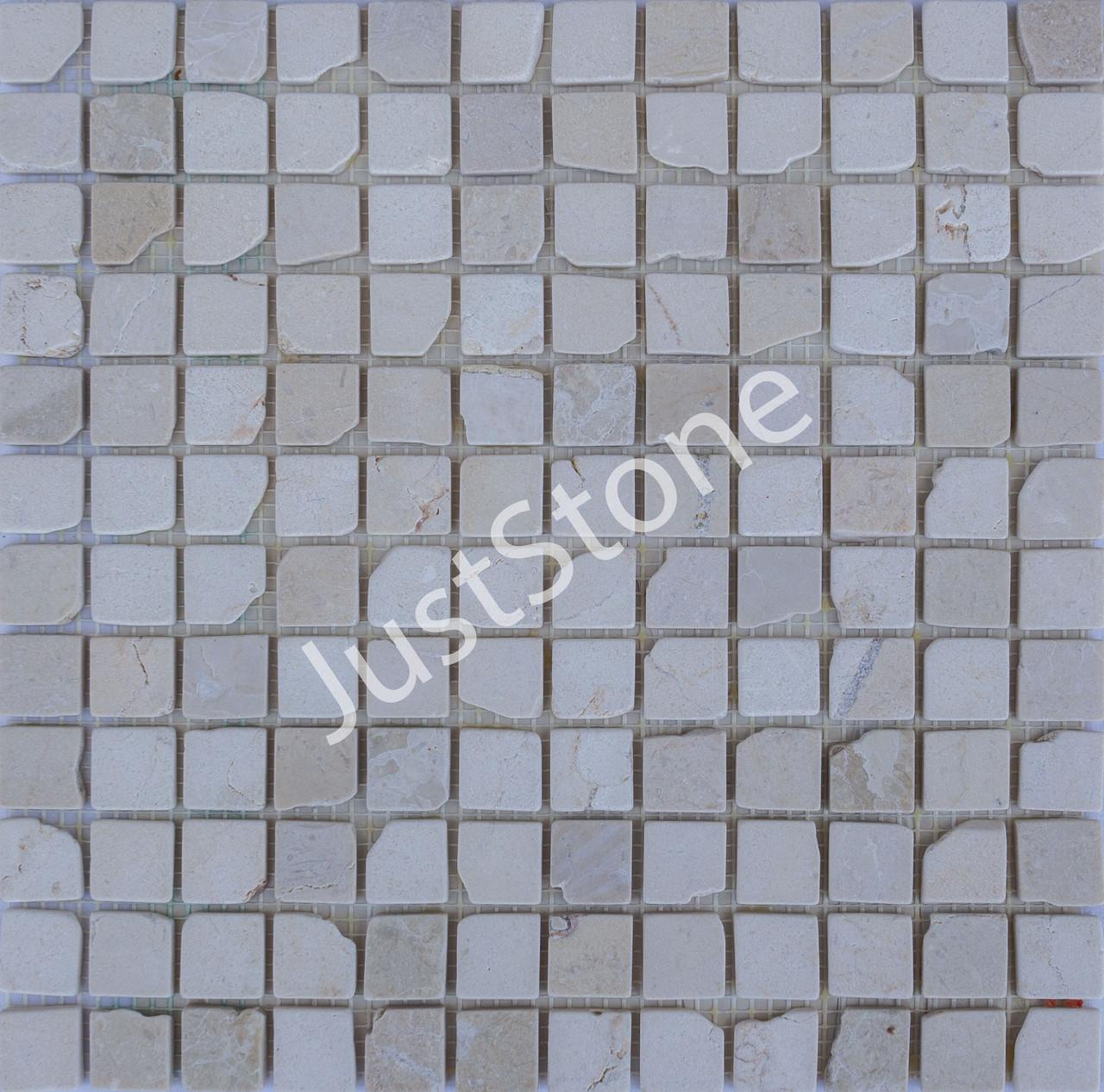Мраморная Мозаика Стар.Валт.Ант. МКР-2СВА (23x23) 6 мм Beige Mix