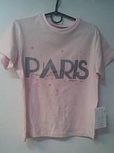 Футболка дівч.  Моналіза Ф-08, 122 рожевий