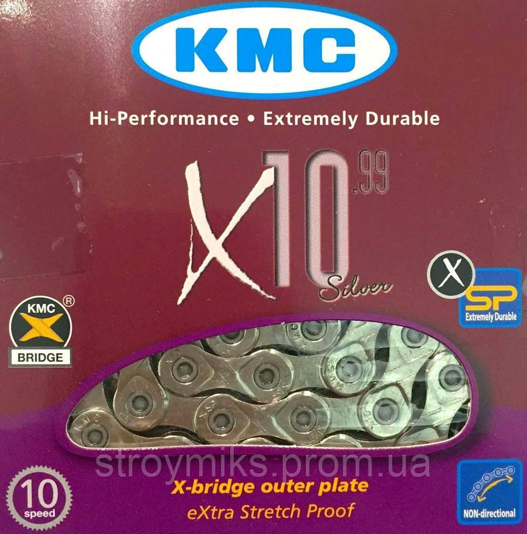 Цепь KMC X10.99 116 звеньев 10-скоростная Taiwan