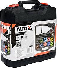Воронка для заливання масла в двигуни з адаптерами YATO YT-06919, фото 2