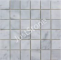 Мозаичная плитка Полированная МКР-3П (47х47) 6 мм White BI
