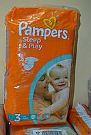 PAMPERS Sleep & Play Midi 3 Детские подгузники (4-9 кг) 58 шт, Германия