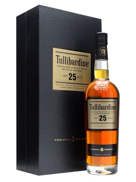 Виски Tullibardine 25 у.о. (Туллибардин 25 лет) 43%, 0,7 литра