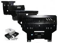Защита картера двигателя Kia Mohave 2008- V-3,0TDI; 3,8 Б, АКПП,радіатор/двигун/КПП/ раздатка ( Киа Мохаве)