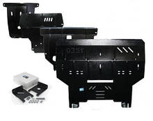Защита картера двигателя Kia Sportage I 2000-2004 V-2.0; 2.0D; МКПП/АКПП,двигун, радіатор ( Киа Спортеж