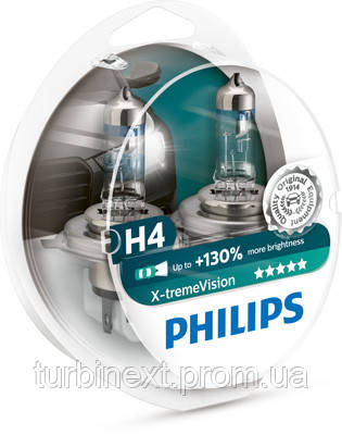 Автолампи галогенна 60/55W PHILIPS PS 12342XV+S2