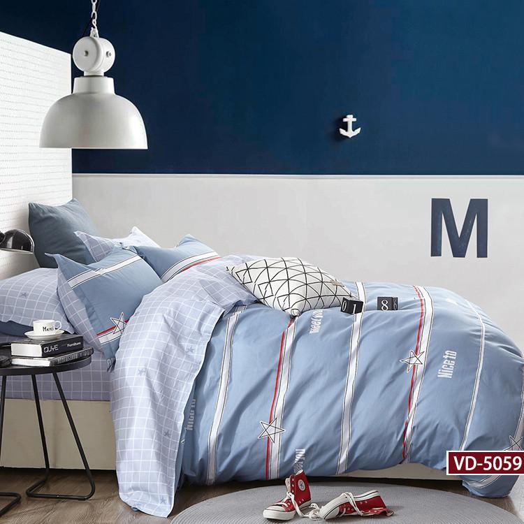Комплект постельного белья Bella Villa сатин полуторный.