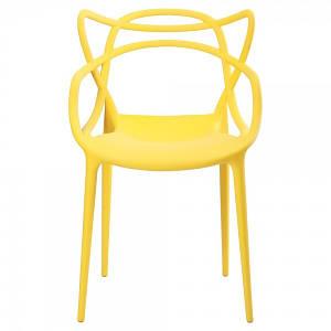 Стул пластик Bari (Бари) желтый 12 Onder Mebli