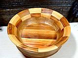 Деревянная сегментная ваза для фруктов,тарелка, конфетница, фото 4