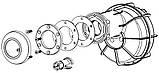 Ніша з заставної AstralPool 53956 для світлодіодних прожекторів Mini, фото 3