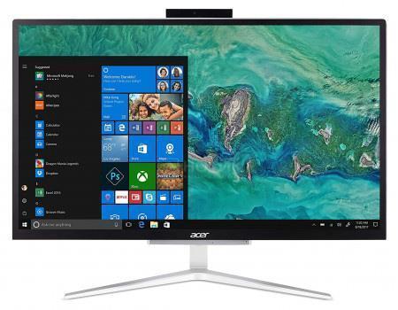 Персональний комп'ютер-моноблок Acer Aspire C22-820 21.5FHD/Intel Pen J5005/4/128F/int/kbm/Lin