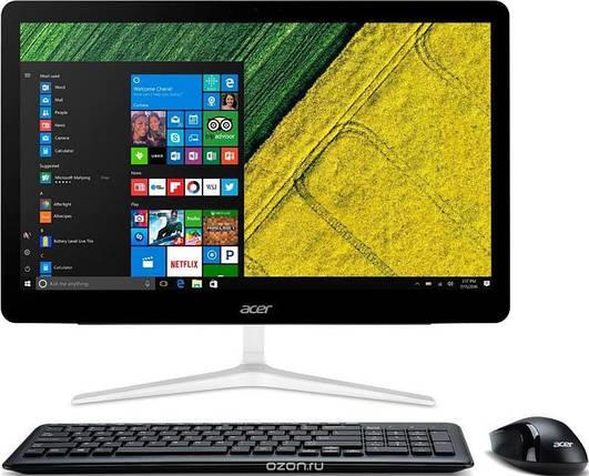 Персональний комп'ютер-моноблок Acer Aspire Z24-880 23.8 FHD IPS/intel i5-7400T/8/1000/ODD/NVD940-2/Lin/Silver, фото 2