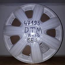 Колпаки на колеса Star DTM белый R13