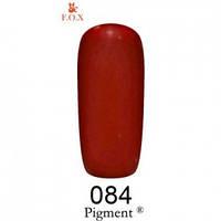 084 F.O.X gel-polish gold Pigment 6 мл