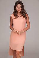 """Платье - шлейф """"Dorothy"""" - распродажа модели персиковый, 42-44"""