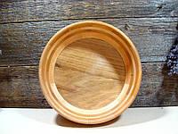 Деревянная сегментная ваза для фруктов,тарелка, конфетница, фото 1