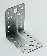 Уголок перфорированный универсальный с ребром жесткости 90х90х65х2,0