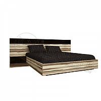 Кровать Соната с механизмом и тумбами 160х200 см МироМарк