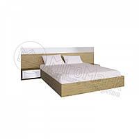 Кровать Соната с тумбами 160х200 см МироМарк