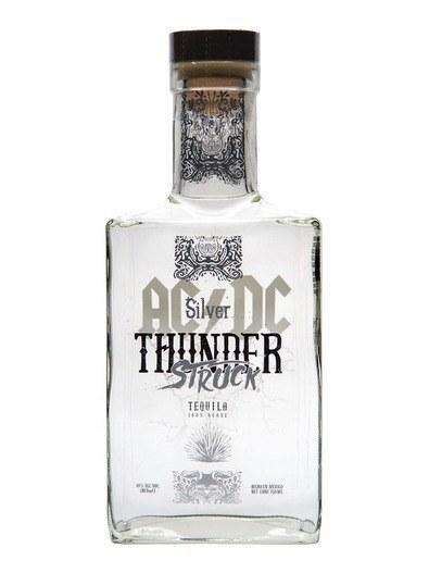 Текила AC/DC Thunderstruck Blanco (ЭйСи/ДиСи Тандерстрак Бланко) 40%, 1 литр