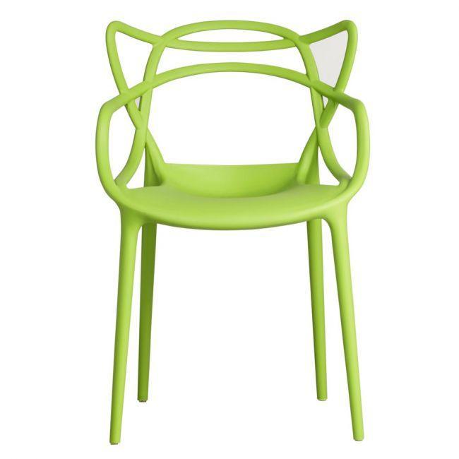 Стул пластик Bari (Бари) зеленый 41 Onder Mebli