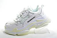 Женские кроссовки в стиле Balenciaga triple s, White\Белые