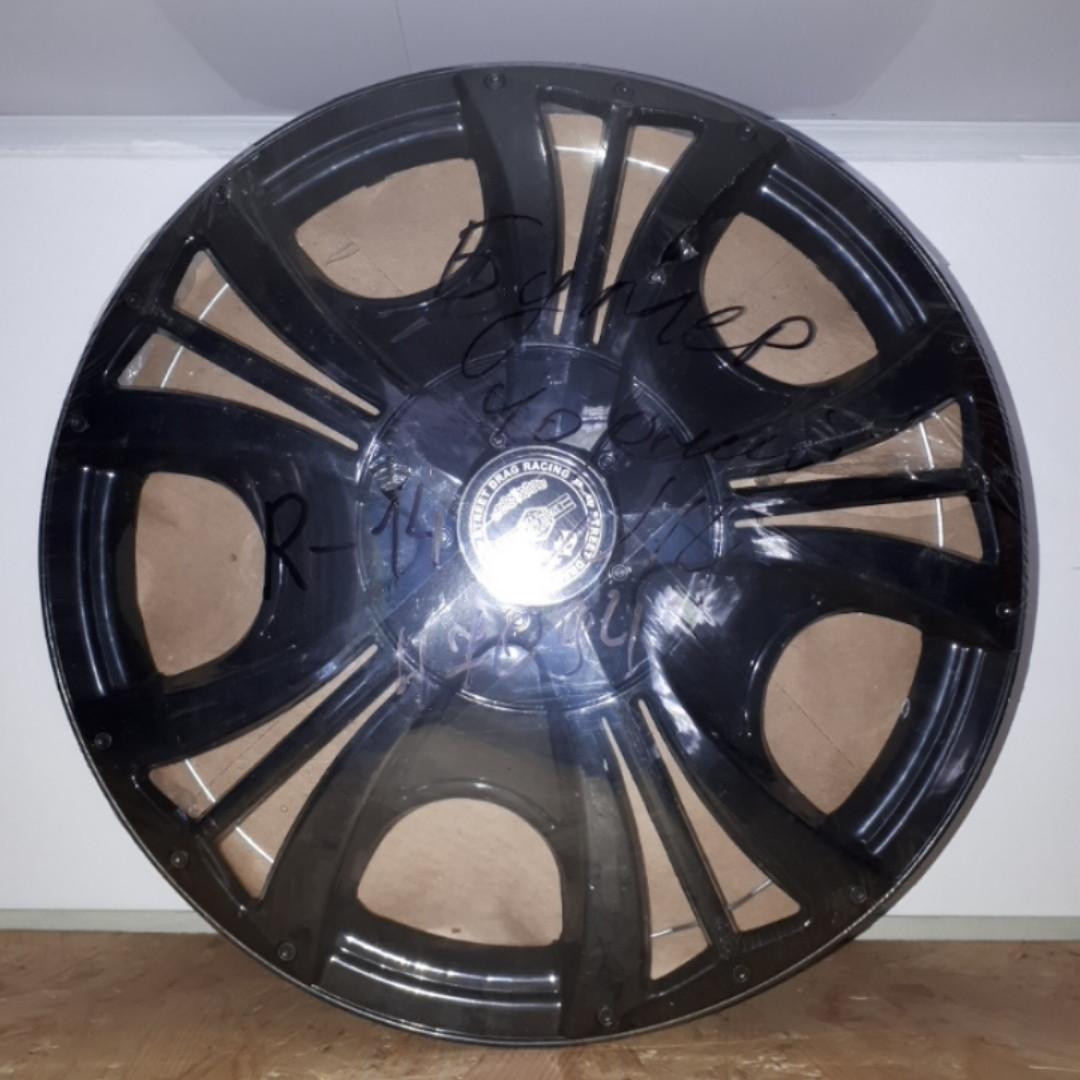 Колпаки на колеса Star Бумер черный R14