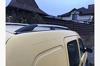 Рейлинги Renault Kangoo ХРОМ, типа Crown, длинная база, Рено Кенгу
