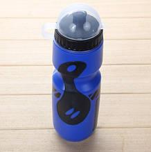 Бутылка для велосипеда (фляга для воды) Discovery 650 ml blue-balck
