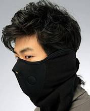 Защитная маска для лица и шеи Velo black