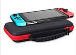 Тканевый чехол-кейс с ручкой для Nintendo Switch / Вместительный / Стекла / Пленки /, фото 3