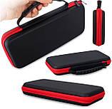 Тканевый чехол-кейс с ручкой для Nintendo Switch / Вместительный / Стекла и пленки есть /, фото 4