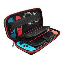 Тканевый чехол-кейс с ручкой для Nintendo Switch / Вместительный / Стекла и пленки есть /