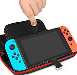 Тканевый чехол-кейс с ручкой для Nintendo Switch / Вместительный / Стекла / Пленки /, фото 6