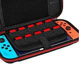 Тканевый чехол-кейс с ручкой для Nintendo Switch / Вместительный / Стекла / Пленки /, фото 7