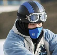 Защитная маска для лица и шеи Velo blue