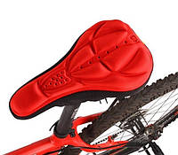 Чехол на седло (сидушку) велосипеда ColCase red