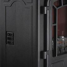 Электрический камин Torino 1000W - 2000W черный, фото 2